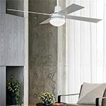 Plafondventilatoren met lamp