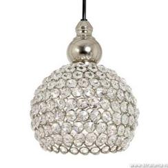 Romantische hanglamp kristal Eva