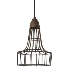 12210107 | industriele hanglamp babette roestbruin