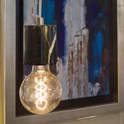 12210426 - Trendy zwart marmeren pendel-hanglamp