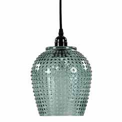 12210773 - glazen hanglamp berdina groen
