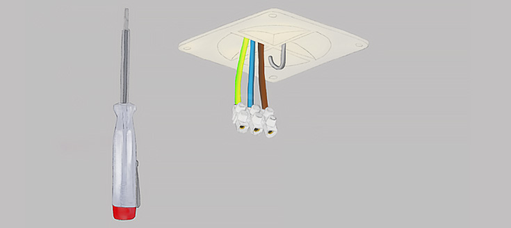 lamp ophangen stappenplan | straluma