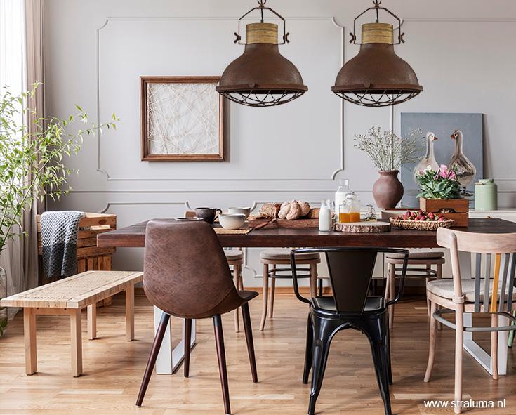 Ongekend 2 of 3 lampen ophangen boven eettafel?   Straluma QR-79