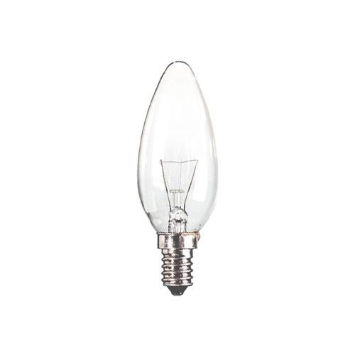 Lichtbron, gloeilamp kaars  E14 15 watt
