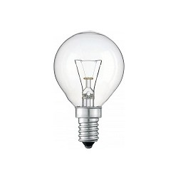 Lichtbron, gloeilamp helder E14 25 watt