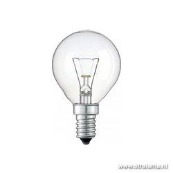 Lichtbron, gloeilamp helder E14 40 watt