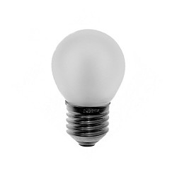 Lichtbron, gloeilamp mat E27 60 watt