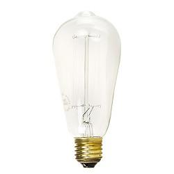 Decoratieve lichtbron peer spiraal 40 W