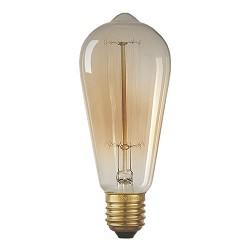Vintage lichtbron spiraal 40W