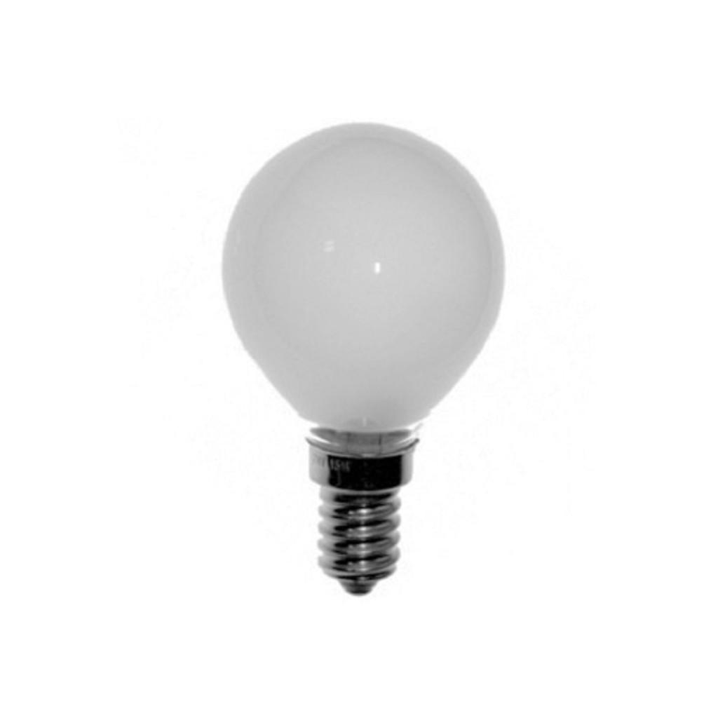 Lichtbron gloeilamp mat E14 60 watt