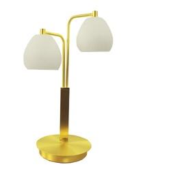Klassieke tafellamp messing LED