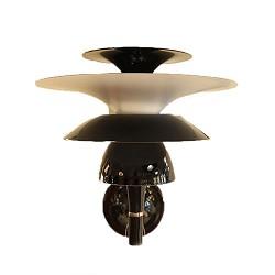 *Wandlamp zwart uniek