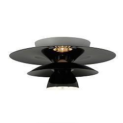 *Design plafondlamp zwart woon/slaapka