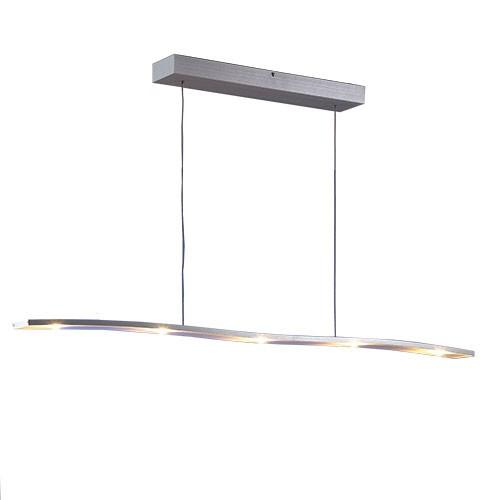*Hanglamp design LED wave aluminium