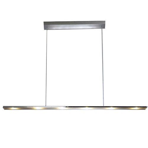 *Hanglamp led design chroom eettafel
