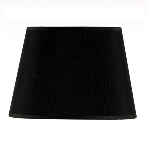 Lampenkap ovaal zwart