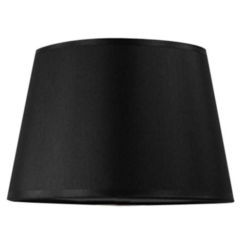 Lampenkap zwart Bridge 30 cm