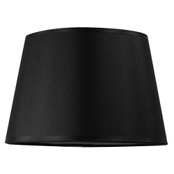 Lampenkap zwart Bridge 20 cm