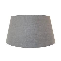 Lampenkap drum 45 vlas linnen donker