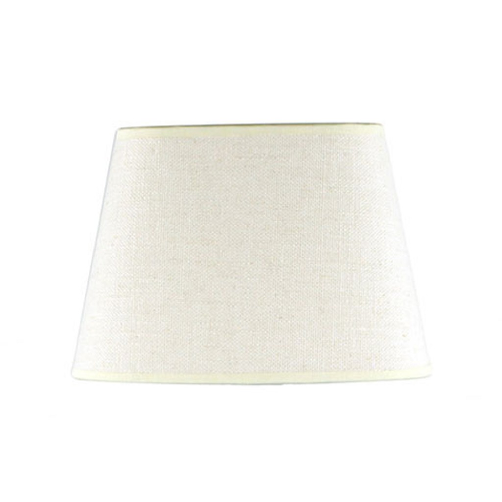 Lampenkap ovaal gebroken wit