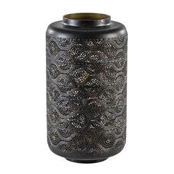 Tafellamp Lantarn cilinder Oosters bruin/goud