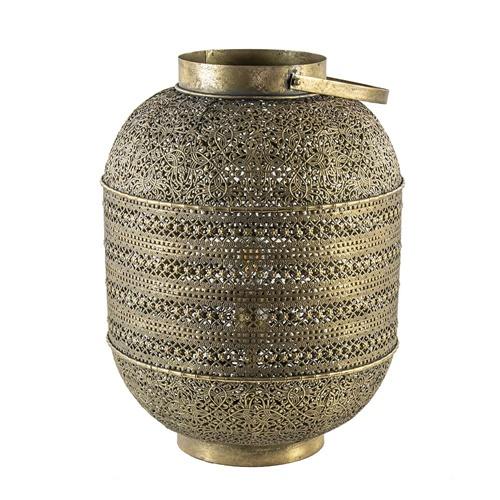 Tafellamp lantaarn goud groot Oriental