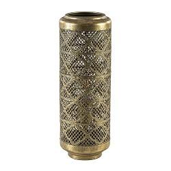 Tafellamp cilinder goud metaal Oosters