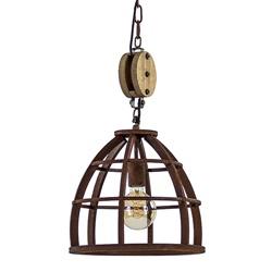 Industrieel  landelijke hanglamp Matrix