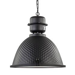 Hanglamp Kiki zwart industrieel