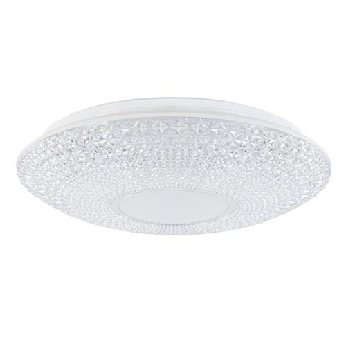 Plafondlamp Nunya LED met kristallook kap