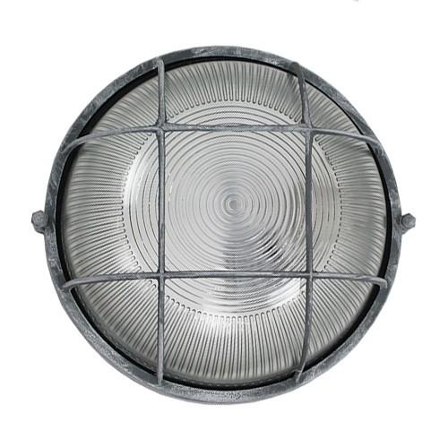 Industriele Wandlamp / plafondlamp rond