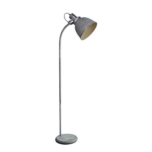 vloerlamp industrieel betonlook spot | straluma