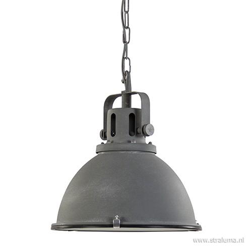 kleine industri le hanglamp jesper beton straluma ForKleine Industriele Hanglamp