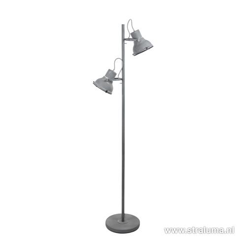 * vloerlamp industrieel betonlook spot