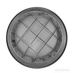Industriele plafondlamp rooster beton
