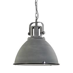 Industriele hanglamp betonlook 47cm