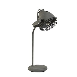 *Industriële tafel-bureaulamp betonlook