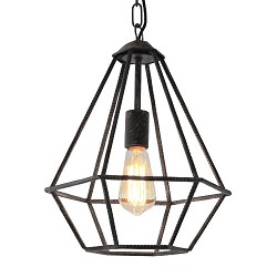 *Trendy hanglamp industrie betondraad