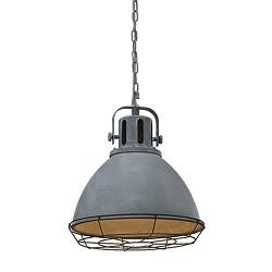 *Aanbieding hanglamp industrie betonlook