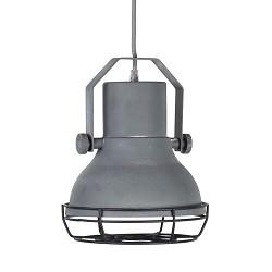 *Kleine industriële hanglamp betonlook