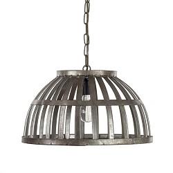 *Trendy ijzeren eettafel hanglamp mand