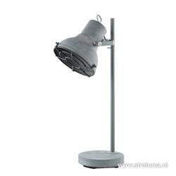 *Industriele leeslamp-tafellamp beton