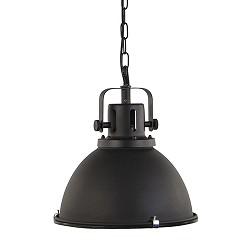 Industriële hanglamp mat zwart 40cm