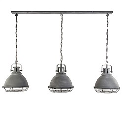 Grote industriele hanglamp 3-lichts
