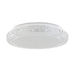 Badkamer plafondlamp LED wit IP44 40 cm