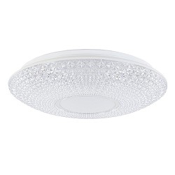Modern klassieke plafondlamp LED met kristallook kap