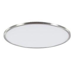 Plafondlamp Ceres 45 cm LED nikkel met wit easydim