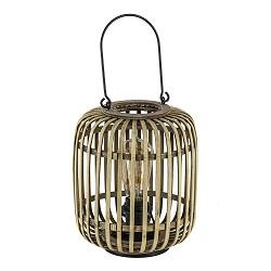 Sfeervolle lantaarn tafellamp bamboe