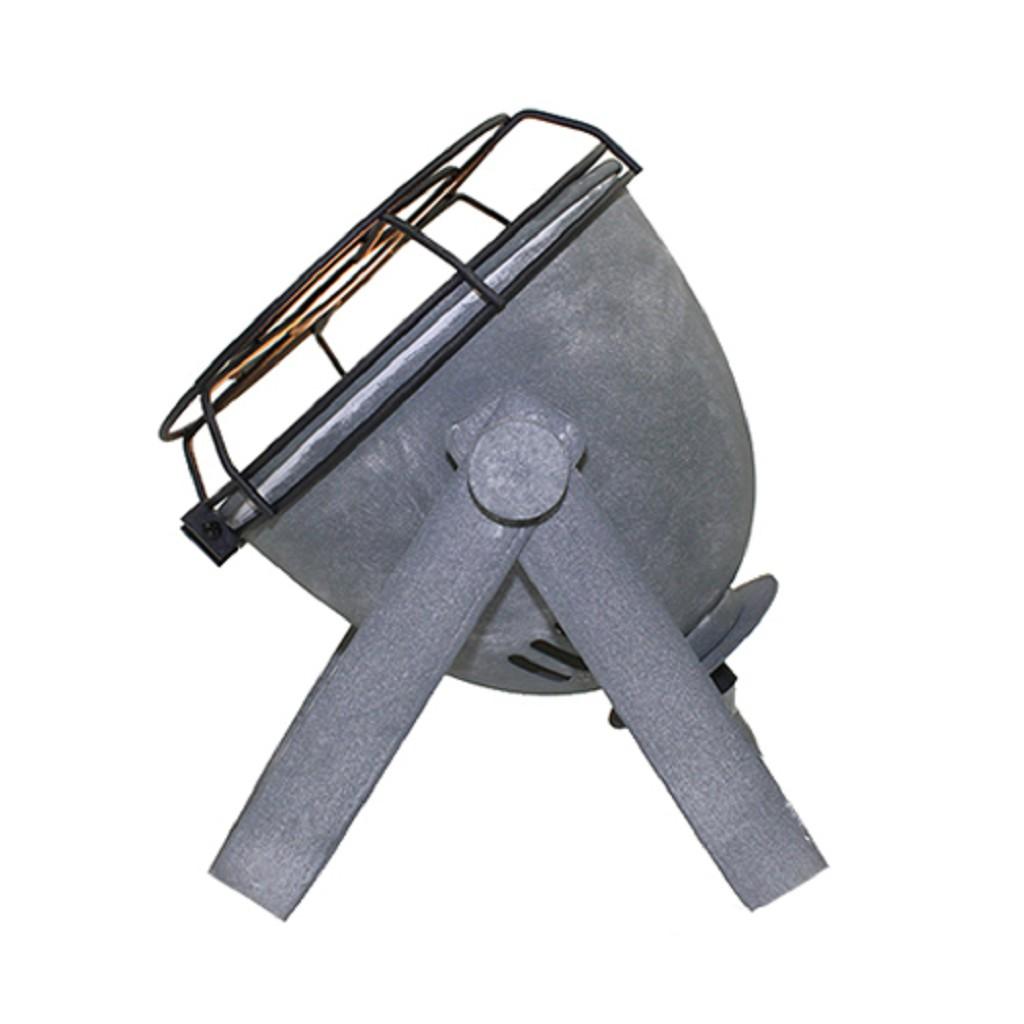 Stoere industriële tafellamp beton-look
