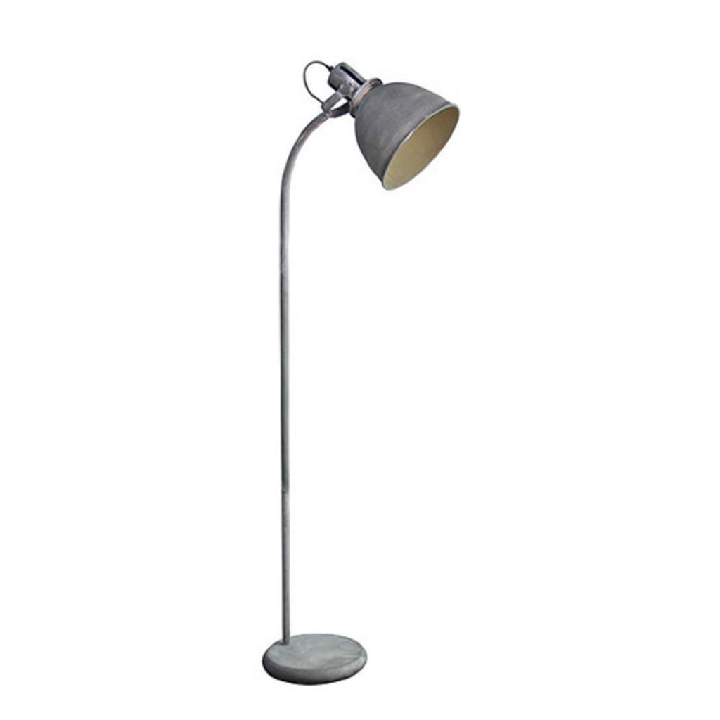 Industriele Kleine Staande Lamp.Industriele Vloerlamp Leeslamp Betonlook Straluma